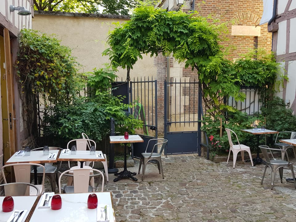 restaurant à troyes pierre et clément terrasse