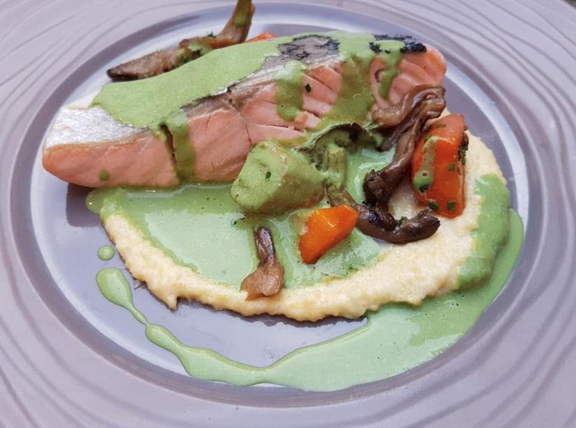 plat gastronomique